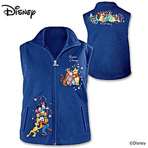 """""""Forever Disney"""" Women's Fleece Vest"""