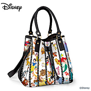 Disney Cast Of Characters Filmstrip Handbag