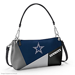 Dallas Cowboys Convertible Handbag: Wear It 3 Ways