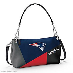 New England Patriots Convertible Handbag: Wear It 3 Ways