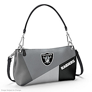 Las Vegas Raiders Convertible Handbag: Wear It 3 Ways