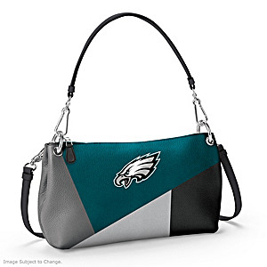 Philadelphia Eagles Convertible Handbag: Wear It 3 Ways