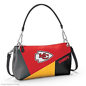 Kansas City Chiefs Convertible Handbag: Wear It 3 Ways
