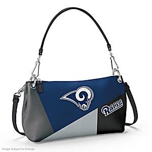 Los Angeles Rams Convertible Handbag: Wear It 3 Ways