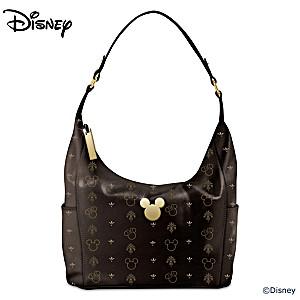 Disney Mickey Mouse And Minnie Mouse Designer Handbag
