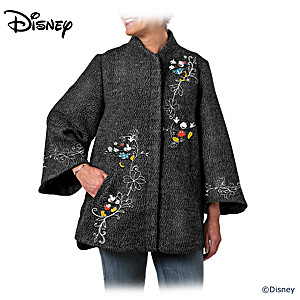Disney Mickey Mouse & Minnie Mouse Women's Cape Jacket
