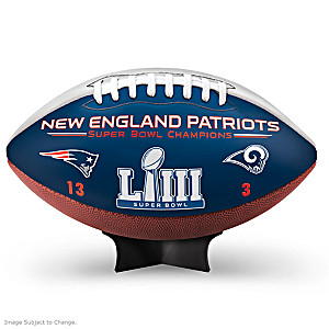 New England Patriots Super Bowl LIII Football