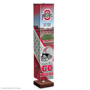 Ohio State University Buckeyes 5-Foot  Floor Lamp