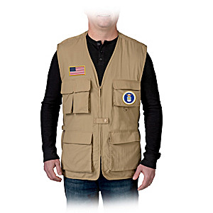 U.S. Air Force Men's Utility Vest With USAF Motto