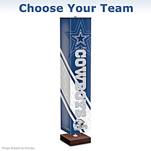 NFL Four-Sided Floor Lamp: Choose Your Team