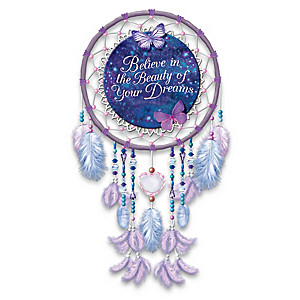 """Believe In The Beauty Of Your Dreams"" Dreamcatcher"