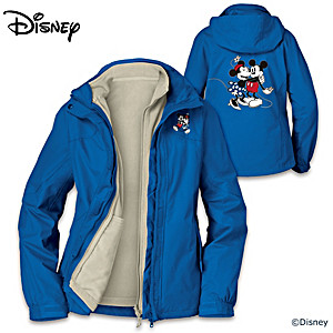 Disney Mickey Mouse & Minnie Mouse 3-in-1 Convertible Jacket