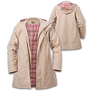 """""""Hope And Heart"""" Breast Cancer Awareness Anorak Jacket"""