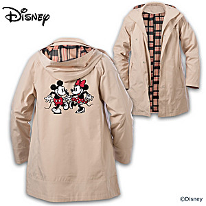 """Disney Dancing Sweethearts"" Hooded Anorak Jacket"