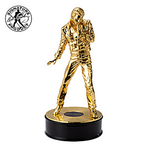Elvis 85th Birthday Anniversary Cast-Metal Sculpture
