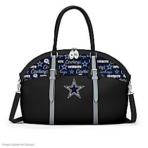 Dallas Cowboys Faux Leather NFL Handbag