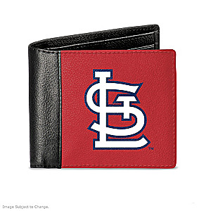 St. Louis Cardinals Men's RFID Blocking Leather Wallet