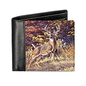 "Al Agnew ""Mighty Buck"" Men's RFID Blocking Leather Wallet"
