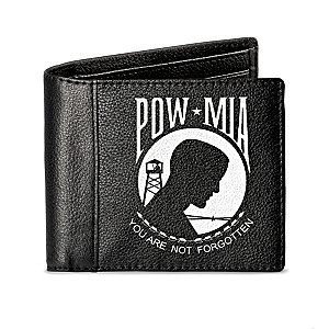 """Never Forgotten"" RFID Blocking POW and MIA Tribute Wallet"