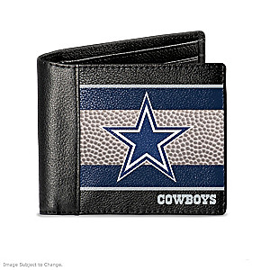 Dallas Cowboys RFID Blocking Men's Leather Wallet