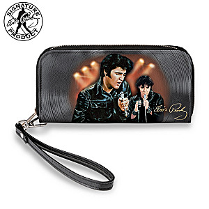 """Elvis '68 Comeback Special"" Women's Clutch Wallet"