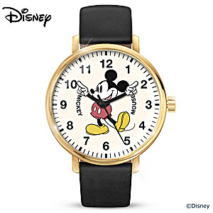 Disney Mickey Mouse Classic Watch With Revolving Arms