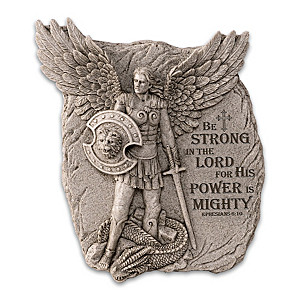 """St. Michael: Defender Of Divine Glory"" Sculpted Wall Decor"