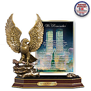 "Peter Ellenshaw ""Never Forgotten"" 9/11 Tribute Sculpture"