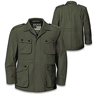 John Wayne American Legend Military Field Men's Jacket