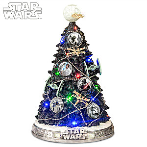 STAR WARS Sculpted Tree With Lights And Music