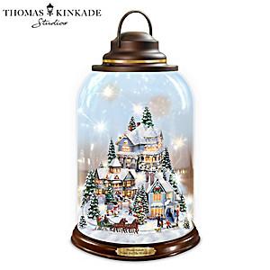 Thomas Kinkade Illuminated Village Lantern