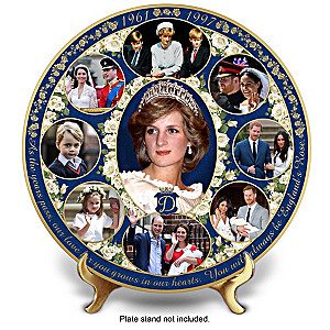 Princess Diana Family Legacy Porcelain Collector Plate
