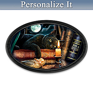 "Lisa Parker ""The Witching Hour"" Personalized Collector Plate"