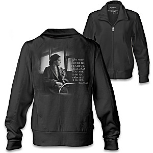 """Legacy Of Courage"" Women's Jacket With Quotes By Rosa Parks"