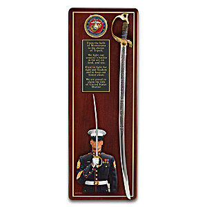 """America's Heroes"" USMC Tribute Wall Decor"