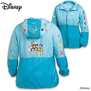 "Disney ""Classic Characters"" Lightweight Women's Jacket"