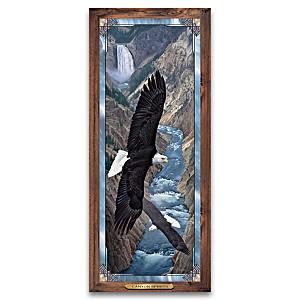 """Canyon Spirits"" Cascading Illumination Stained Glass"