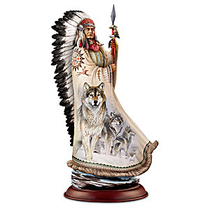 "Al Agnew ""Noble Spirits"" Native American-Inspired Sculpture"