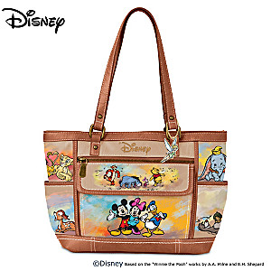 Disney Designer-Style Handbag Featuring Over 20 Characters