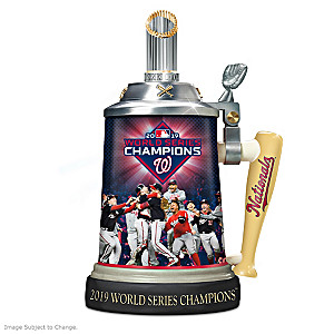 Washington Nationals 2019 World Series Commemorative Stein