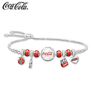 "COCA-COLA ""Classic Refreshment"" Charm Bracelet"