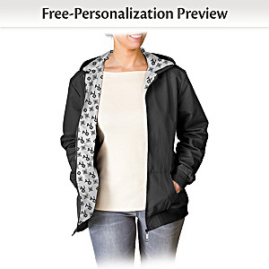 Personalized Jacket With Your Initials In A Designer Pattern