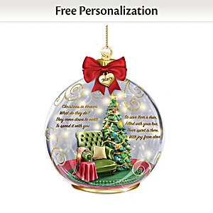 There In Spirit Personalized Remembrance Ornament