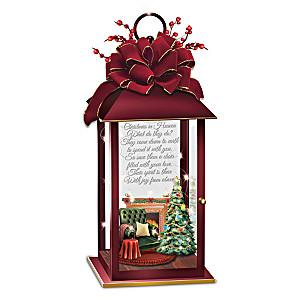 """Christmas In Heaven"" Illuminated Memorial Lantern"