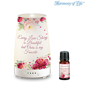 """Love Is In The Air"" Illuminated Diffuser And Essential Oil"