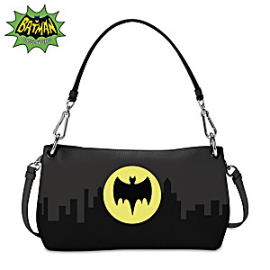 BATMAN Glow-In-The-Dark Handbag That Can Be Worn 3 Ways