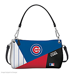 Chicago Cubs Convertible Handbag: Wear It 3 Ways
