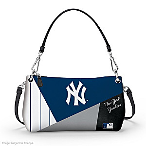 New York Yankees Convertible Handbag: Wear It 3 Ways