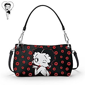 "Betty Boop ""A Wink And A Kiss"" Handbag: Wear It 3 Ways"