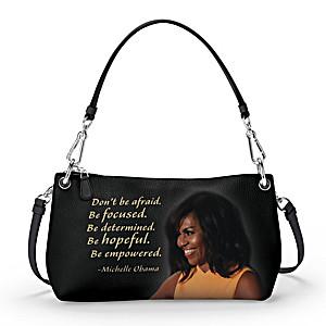 """Michelle Obama """"Be Empowered"""" Handbag: Wear It 3 Ways"""